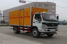 程力威牌CLW5121XRQB4型易燃气体厢式运输车
