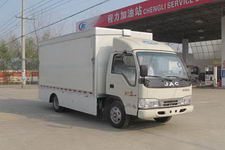 程力威牌CLW5040XWTH4型舞台车