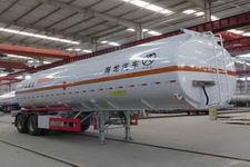 普诚10.5米29.5吨2轴铝合金运油半挂车(PC9350GYYA)