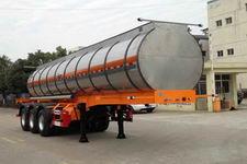 培新牌XH9408GFW型腐蚀性物品罐式运输半挂车