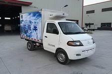 达福迪牌JAX5020XLCBEVF216LB15M2X1型纯电动冷藏车图片