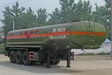 程力威10米30吨3轴易燃液体罐式运输半挂车(CLW9402GRYA)