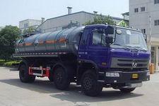 培新牌XH5256GFW型腐蚀性物品罐式运输车