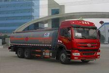 程力威牌CLW5252GRYC4型易燃液体罐式运输车