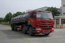 培新牌XH5312GFW型腐蚀性物品罐式运输车