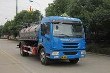 培新牌XH5163GFW型腐蚀性物品罐式运输车