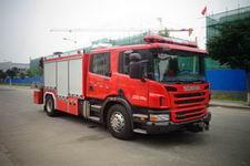 中卓时代牌ZXF5130TXFJY100/S型抢险救援消防车