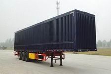 华鲁业兴13.5米28.5吨3轴翼开启厢式半挂车(HYX9380XYK)