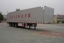 梁山东岳牌CSQ9400XXYK型翼开启式厢式运输半挂车图片