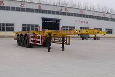 粱锋12.4米35吨3轴集装箱运输半挂车(LYL9400TJZ)