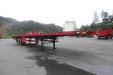 海福龙10米28.5吨2轴平板运输半挂车(PC9350TPB)