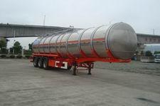 安通牌CHG9401GSY型铝合金食用油运输半挂车