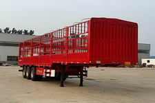沃顺达13米33吨3轴仓栅式运输半挂车(DR9400CCY)