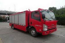 天河牌LLX5084TXFGQ40/L型供气消防车图片