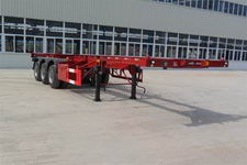 扬子牌YZK9390TJZG型集装箱运输半挂车图片