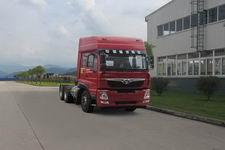 豪曼牌ZZ4258M40EL0型天然气牵引汽车图片