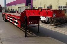齐鲁中亚15米30吨6轴低平板半挂车(DEZ9400TDP)