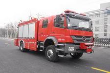 中卓时代牌ZXF5150TXFJY100型抢险救援消防车