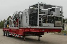 科瑞牌KRT9450TLG型连续油管作业半挂车图片