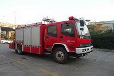 中卓时代牌ZXF5121TXFJY100型抢险救援消防车