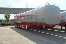 安通牌CHG9407GRY型易燃液体罐式运输半挂车
