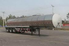 陆平机器牌LPC9400GSYD型铝合金食用油运输半挂车图片