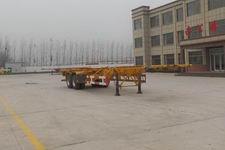 坤博12.4米30.5吨2轴集装箱运输半挂车(LKB9350TJZ)