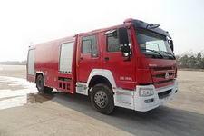隆华牌BBS5200GXFPM80H型泡沫消防车