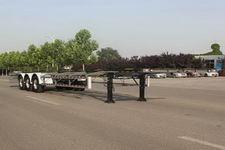 五岳14.6米30.7吨3轴集装箱运输半挂车(TAZ9354TJZD)