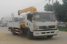 程力威牌CLW5121JSQ4型随车起重运输车
