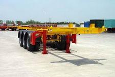 华骏8.5米35吨3轴集装箱运输半挂车(ZCZ9405TJZ)
