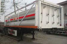 安瑞科9.3米3吨2轴高压气体运输半挂车(HGJ9310GGQ)