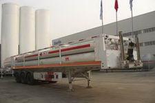 安瑞科(ENRIC)牌HGJ9380GGQ型高压气体运输半挂车图片