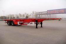 华骏12.4米30.5吨2轴集装箱运输半挂车(ZCZ9353TJZ)