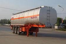 神狐10.5米33吨3轴易燃液体罐式运输半挂车(HLQ9400GRY)