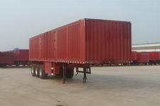 驹王11米33吨3轴厢式运输半挂车(ZJW9409XXY)