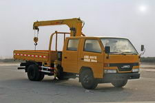 程力威牌CLW5060JSQ4型随车起重运输车