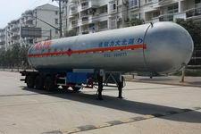 大力0米29.8吨3轴易燃液体罐式运输半挂车(DLQ9401GRY)