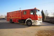 中卓时代牌ZXF5160TXFHX20型化学洗消消防车