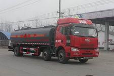 程力威牌CLW5251GRYC4型易燃液体罐式运输车