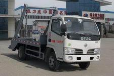 程力威牌CLW5070ZBSD4型摆臂式垃圾车图片