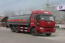 程力威牌CLW5250GRYC4型易燃液体罐式运输车