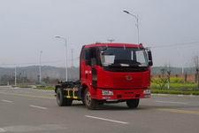 解放勾臂垃圾车(ALA5160ZXXC4久龙车厢可卸式垃圾车)