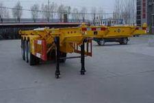 斯派菲勒牌GJC9402TJZ型集装箱运输半挂车