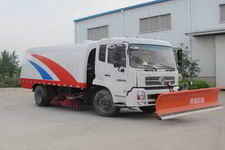 东风天锦扫路车带铲雪多功能作业车 SZD5140TSLD4