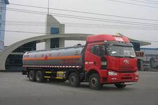 程力威牌CLW5310GRYC4型易燃液体罐式运输车