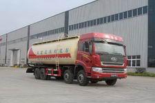 解放前四后八低密度粉粒物料运输车