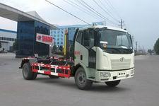 解放J6勾臂垃圾车(CLW5160ZXXC4程力威车厢可卸式垃圾车)