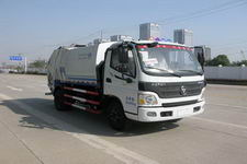 九通牌KR5080ZYS4型压缩式垃圾车图片