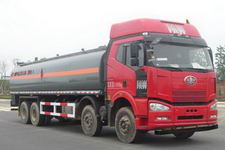 解放前四后八易燃液体罐式运输车价格
